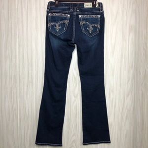 Rock Revival Jazlyn Mid Rise Boot Jeans size 29